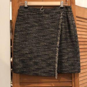 Loft wrap skirt size 2